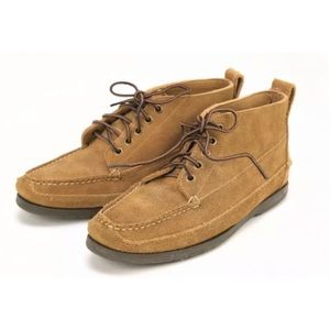 L.L Bean Men's Tan Suede Desert Boots 8.5